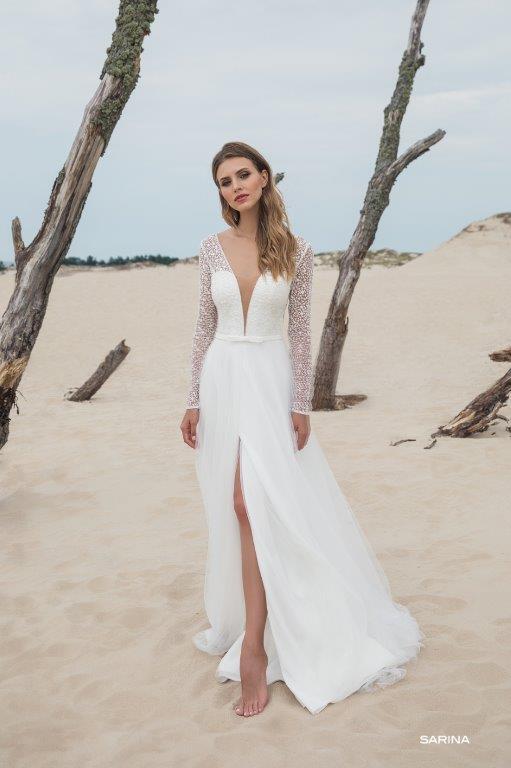 Brautkleid Le Rina Sarina front