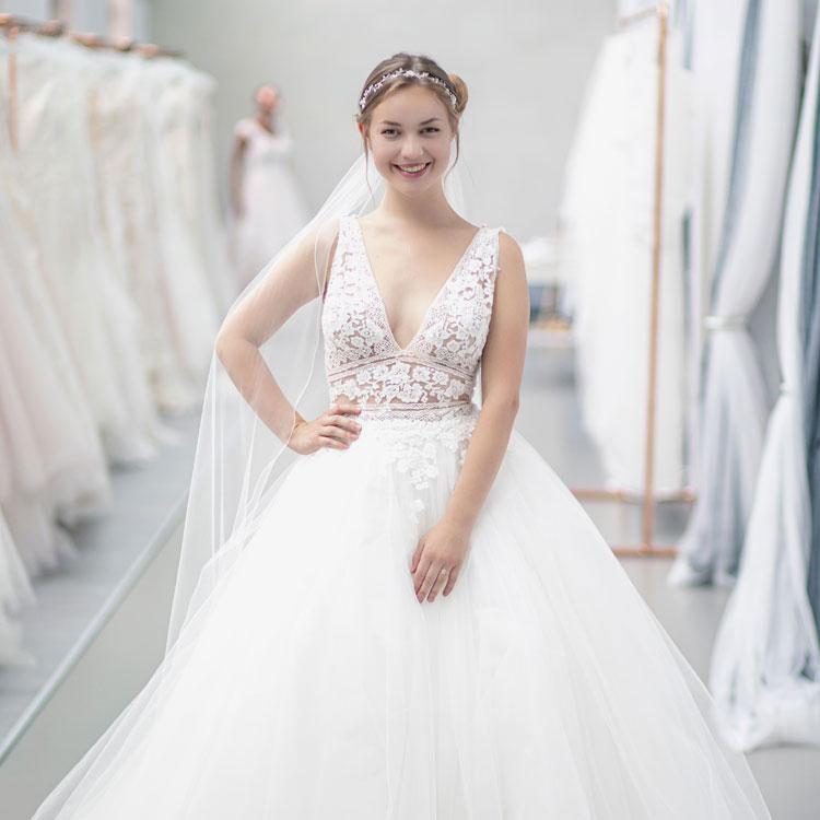 Wunderschöne Brautkleider & Hochzeitskleider von Vanity Bridal