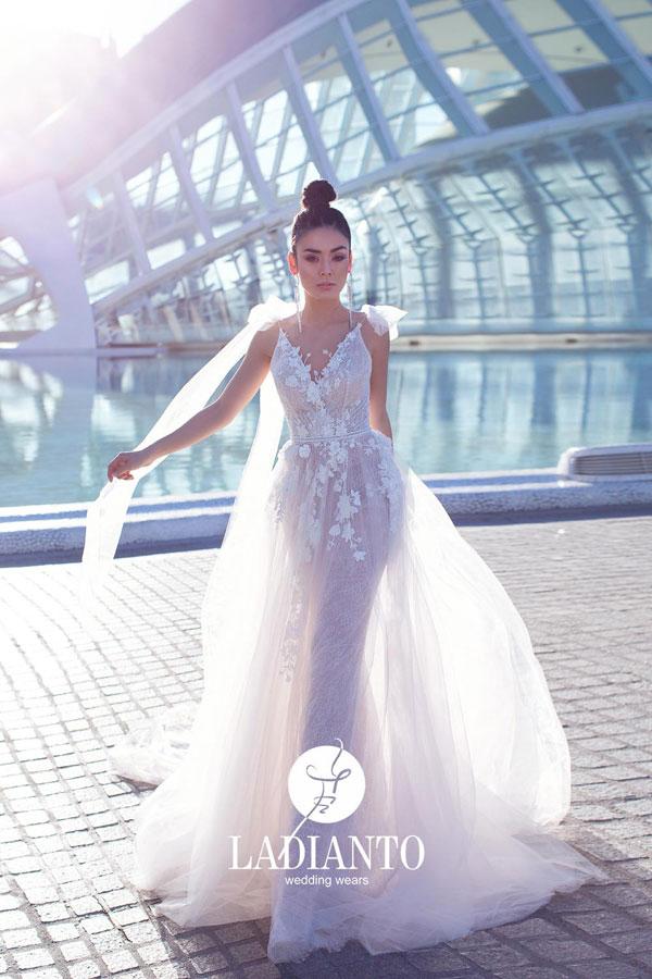 Hochzeitskleider in Rosa zum Tagträumen