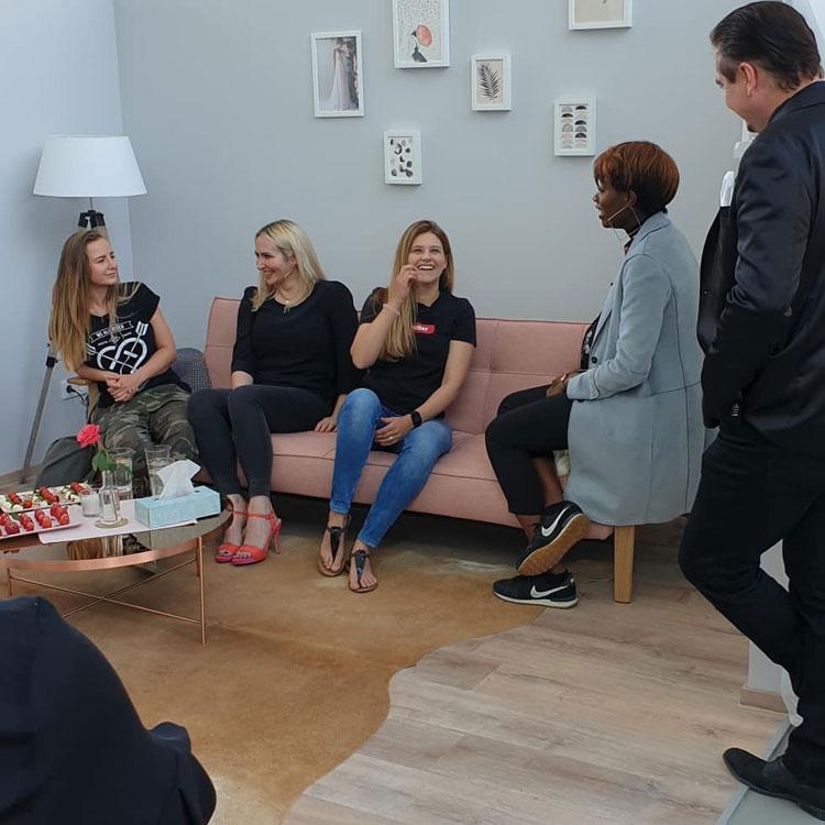 Experten unter sich - Uwe Herrmann besucht Vanity Bridal