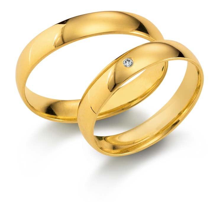 Trauringe Gold 110240
