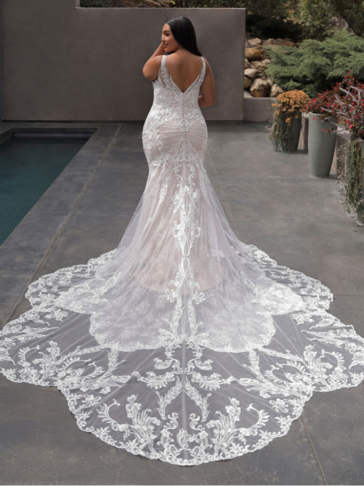 Brautkleid in Übergröße, Plus Size, XXL - Elysee Edition Kleid Francoise Back
